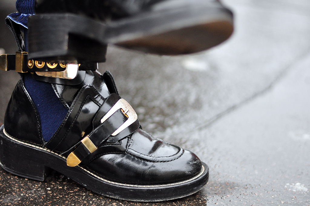 Ankle Boots Buckles Buckle Strap Ankle Boots
