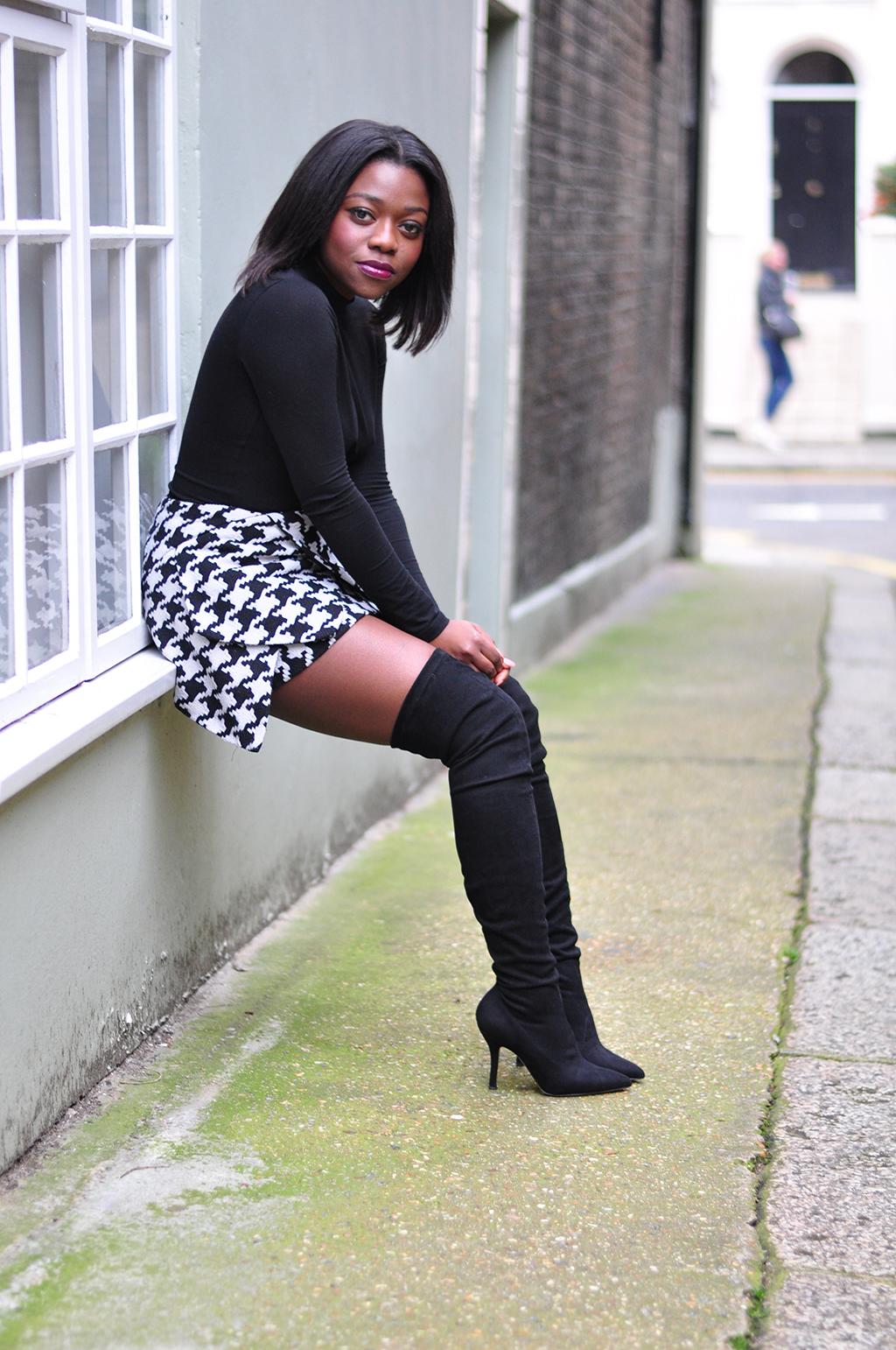 Black High boots
