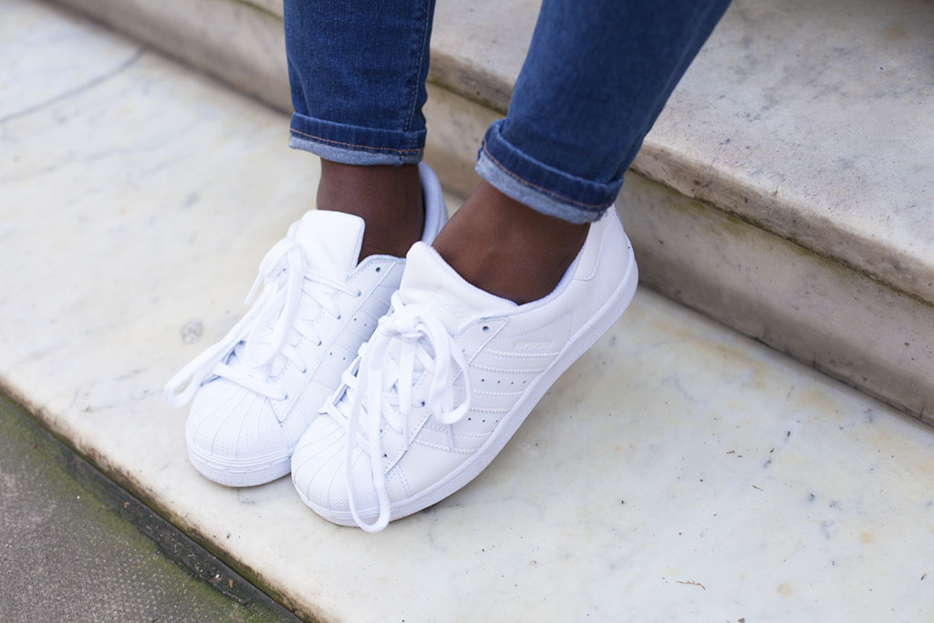 Details about adidas Originals superstar 2 II leather trainers white