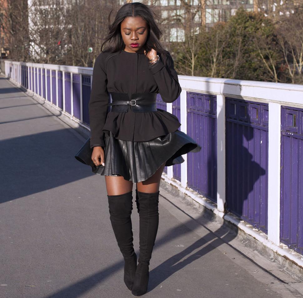 Knee Boots Skirt 92