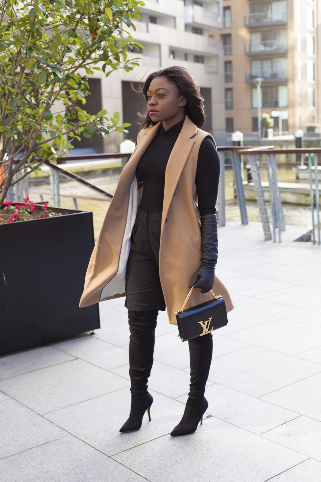 missguided sleeveless coat