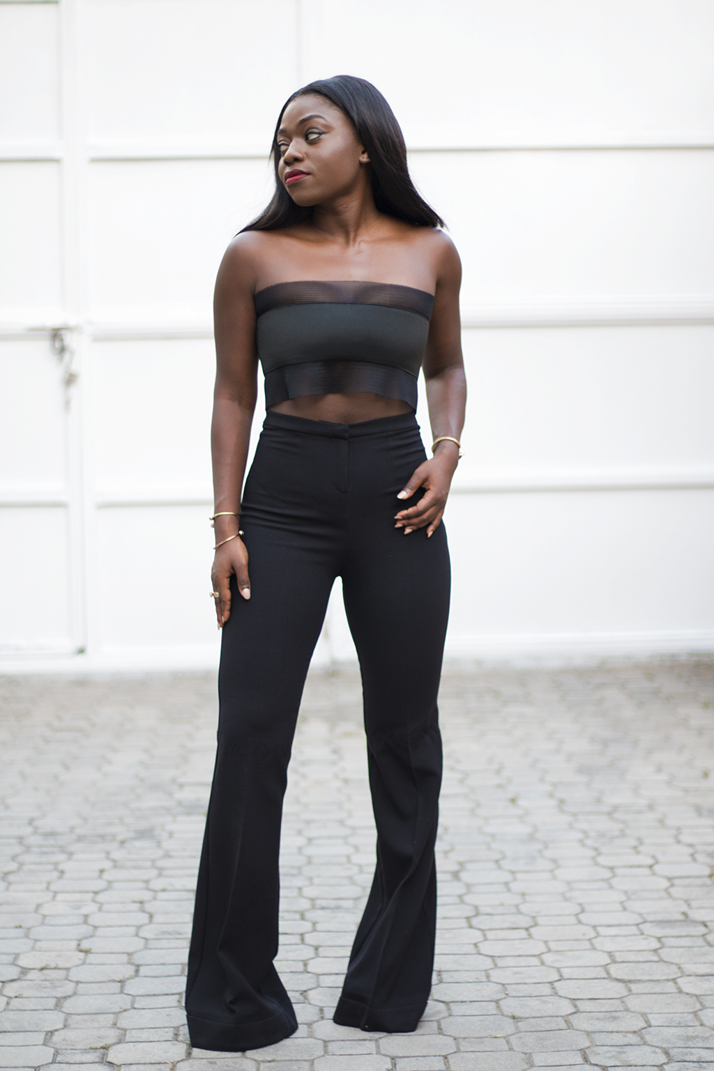 asos flared trousers